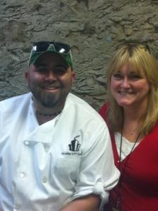 Duff Goldman and Moi