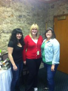 Elena Fox and Mary Smith from Charm City Cakes