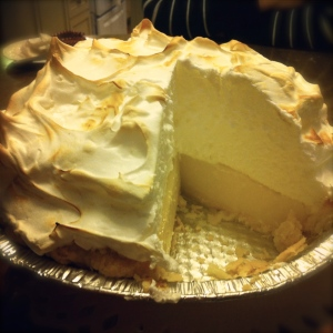 Look at that meringue!