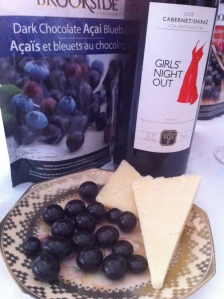 chocolate, cheese, and wine...oh my!