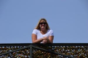The Lovers' Bridge - all those locks!!